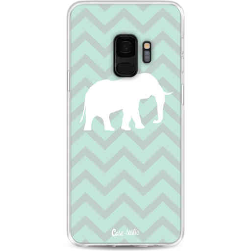 Casetastic Softcover Samsung Galaxy S9 - Elephant Chevron Pattern