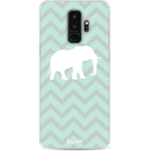 Casetastic Softcover Samsung Galaxy S9 Plus - Elephant Chevron Pattern