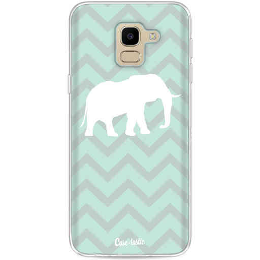 Casetastic Softcover Samsung Galaxy J6 (2018) - Elephant Chevron Pattern