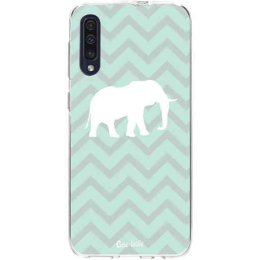 Casetastic Softcover Samsung Galaxy A50 (2019) - Elephant Chevron Pattern