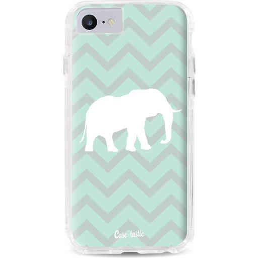 Casetastic Dual Snap Case Apple iPhone 7 / 8 - Elephant Chevron Pattern