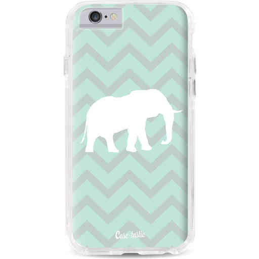 Casetastic Dual Snap Case Apple iPhone 6 / 6s - Elephant Chevron Pattern