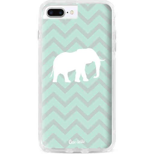 Casetastic Dual Snap Case Apple iPhone 7 Plus / 8 Plus - Elephant Chevron Pattern