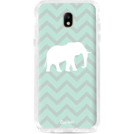 Casetastic Dual Snap Case Samsung Galaxy J7 (2017) - Elephant Chevron Pattern