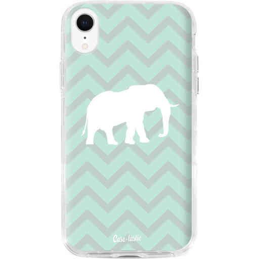 Casetastic Dual Snap Case Apple iPhone XR - Elephant Chevron Pattern