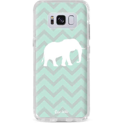 Casetastic Dual Snap Case Samsung Galaxy S8 - Elephant Chevron Pattern