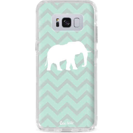 Casetastic Dual Snap Case Samsung Galaxy S8 Plus - Elephant Chevron Pattern