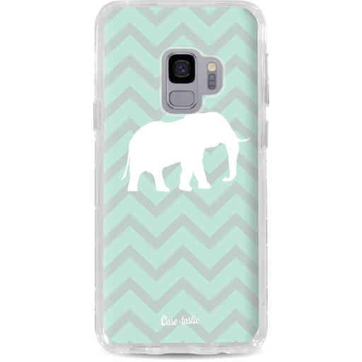 Casetastic Dual Snap Case Samsung Galaxy S9 - Elephant Chevron Pattern