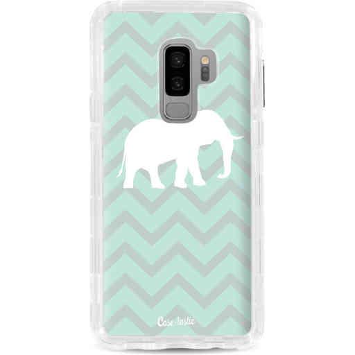 Casetastic Dual Snap Case Samsung Galaxy S9 Plus - Elephant Chevron Pattern