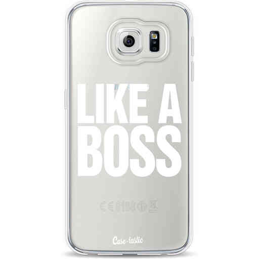 Casetastic Softcover Samsung Galaxy S6 - Like a Boss