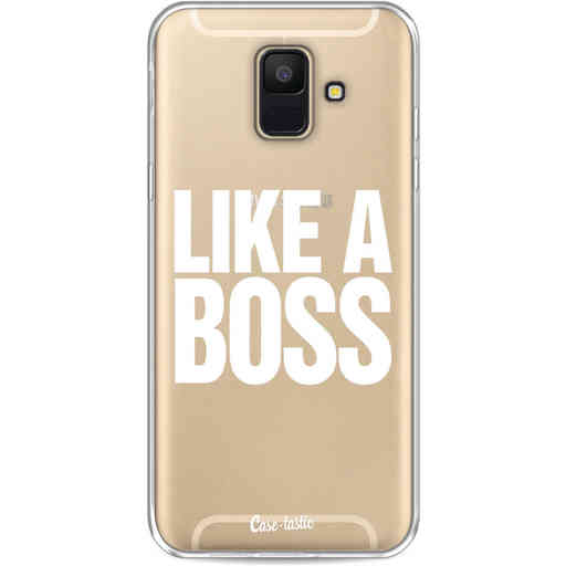 Casetastic Softcover Samsung Galaxy A6 (2018) - Like a Boss