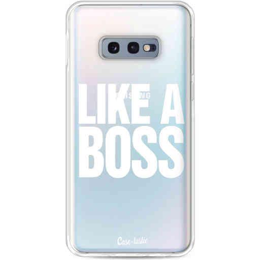 Casetastic Softcover Samsung Galaxy S10e - Like a Boss