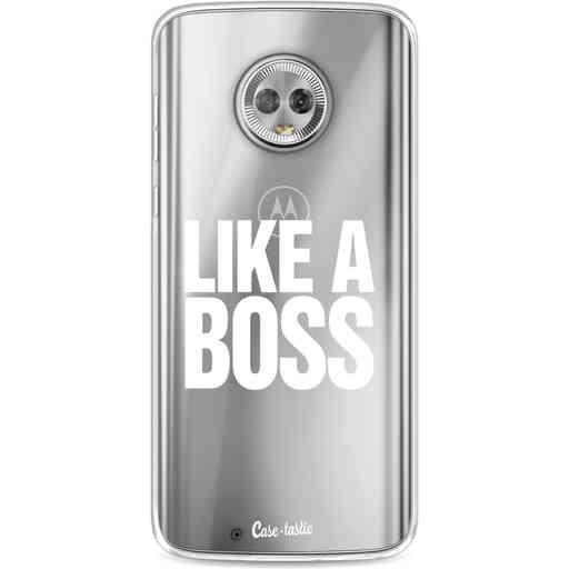 Casetastic Softcover Motorola Moto G6 - Like a Boss