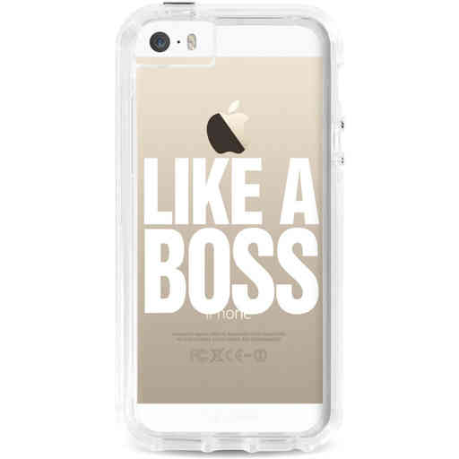 Casetastic Dual Snap Case Apple iPhone 5 / 5s / SE - Like a Boss