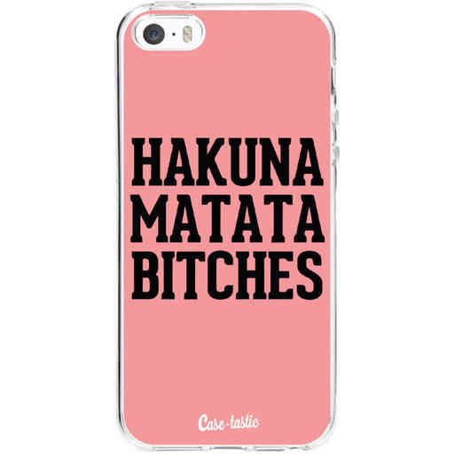 Casetastic Softcover Apple iPhone 5 / 5s / SE - Hakuna Matata Bitches