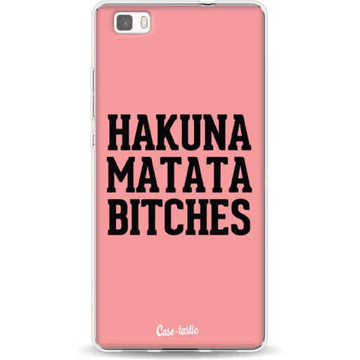Casetastic Softcover Huawei P8 Lite (2015) - Hakuna Matata Bitches