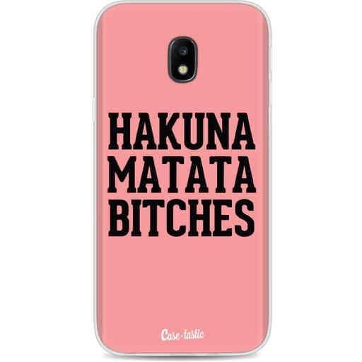 Casetastic Softcover Samsung Galaxy J3 (2017)  - Hakuna Matata Bitches