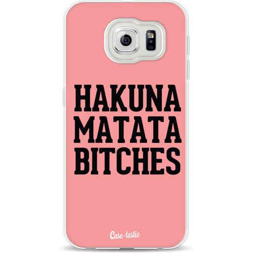 Casetastic Softcover Samsung Galaxy S6 - Hakuna Matata Bitches