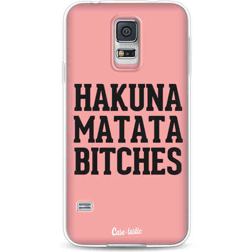 Casetastic Softcover Samsung Galaxy S5  - Hakuna Matata Bitches