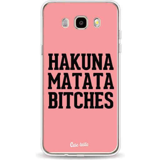 Casetastic Softcover Samsung Galaxy J5 (2016) - Hakuna Matata Bitches