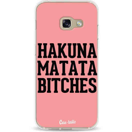Casetastic Softcover Samsung Galaxy A3 (2017)  - Hakuna Matata Bitches