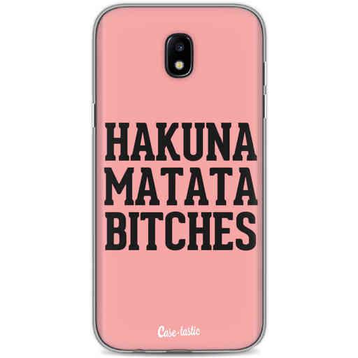 Casetastic Softcover Samsung Galaxy J5 (2017) - Hakuna Matata Bitches