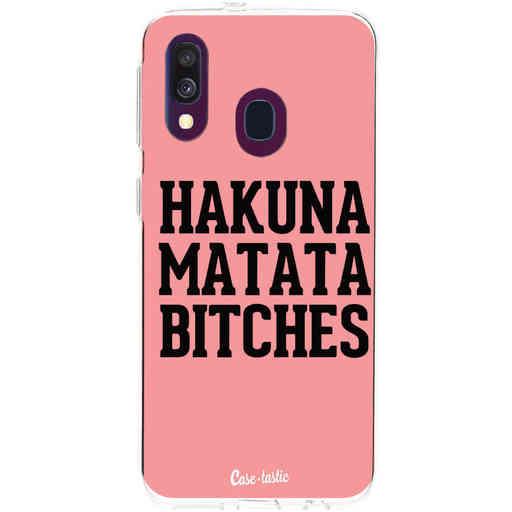 Casetastic Softcover Samsung Galaxy A40 (2019) - Hakuna Matata Bitches