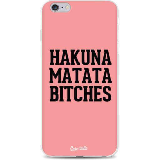 Casetastic Softcover Apple iPhone 6 Plus / 6s Plus - Hakuna Matata Bitches