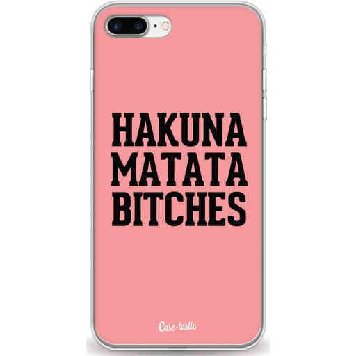 Casetastic Softcover Apple iPhone 7 Plus / 8 Plus - Hakuna Matata Bitches