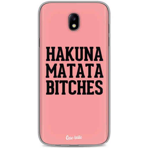 Casetastic Softcover Samsung Galaxy J7 (2017) - Hakuna Matata Bitches