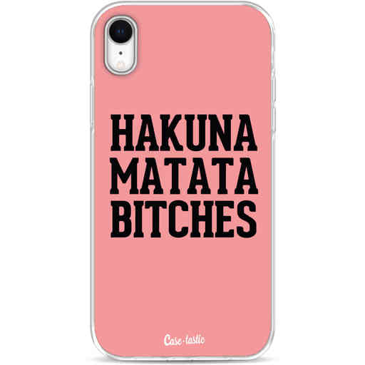 Casetastic Softcover Apple iPhone XR - Hakuna Matata Bitches
