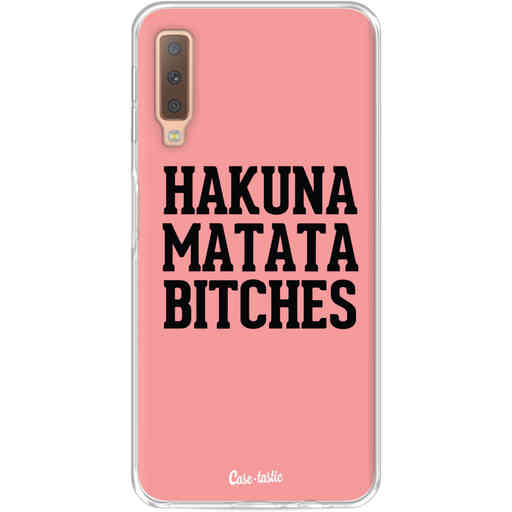 Casetastic Softcover Samsung Galaxy A7 (2018) - Hakuna Matata Bitches