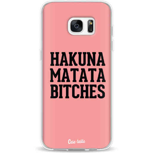Casetastic Softcover Samsung Galaxy S7 Edge - Hakuna Matata Bitches