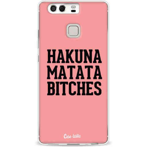 Casetastic Softcover Huawei P9 - Hakuna Matata Bitches