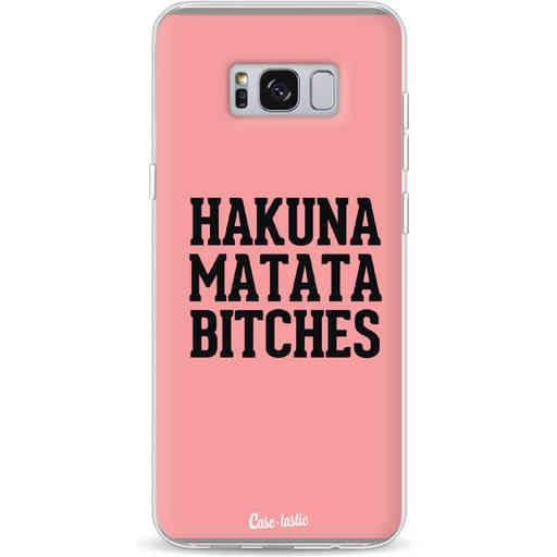 Casetastic Softcover Samsung Galaxy S8 Plus - Hakuna Matata Bitches