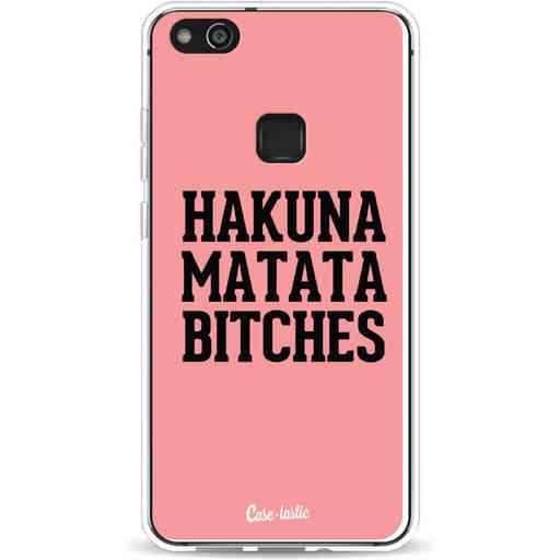 Casetastic Softcover Huawei P10 Lite - Hakuna Matata Bitches