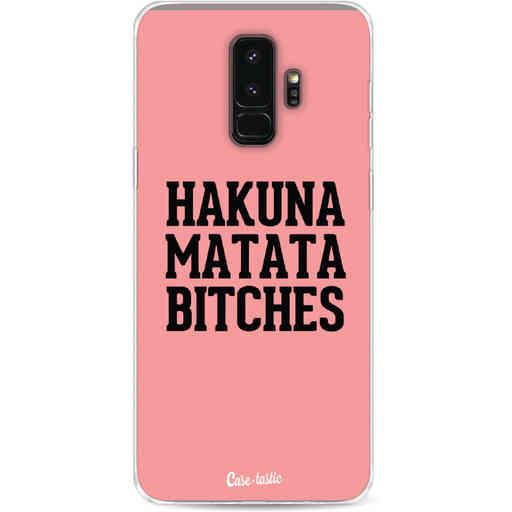 Casetastic Softcover Samsung Galaxy S9 Plus - Hakuna Matata Bitches