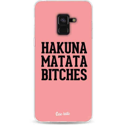 Casetastic Softcover Samsung Galaxy A8 (2018) - Hakuna Matata Bitches