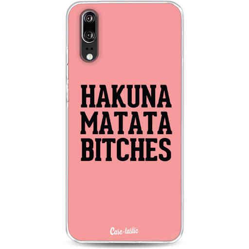 Casetastic Softcover Huawei P20 - Hakuna Matata Bitches