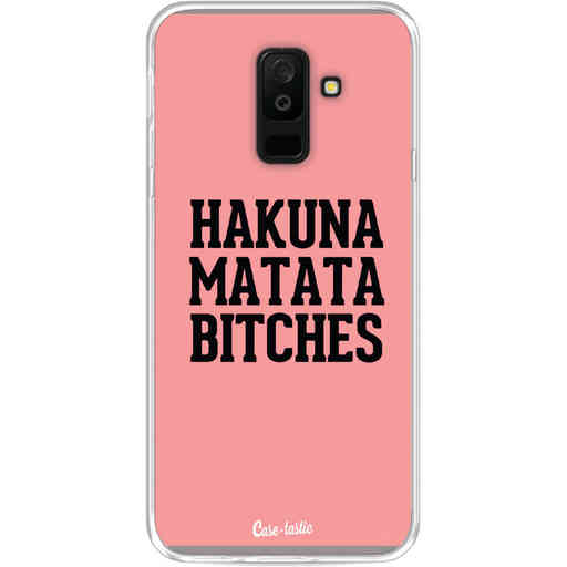 Casetastic Softcover Samsung Galaxy A6 Plus (2018) - Hakuna Matata Bitches