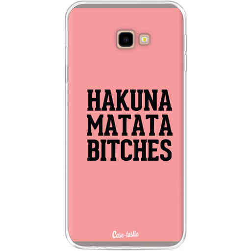 Casetastic Softcover Samsung Galaxy J4 Plus (2018) - Hakuna Matata Bitches