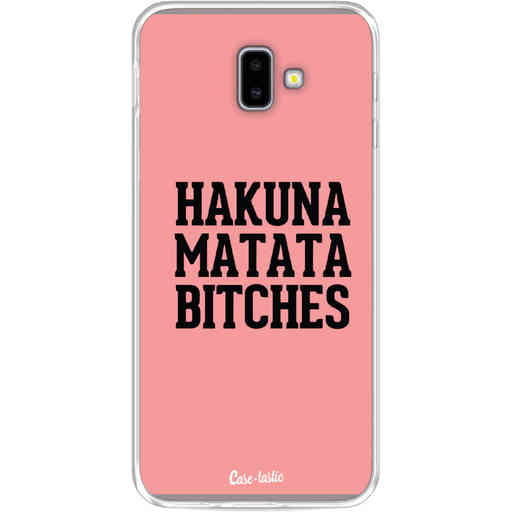 Casetastic Softcover Samsung Galaxy J6 Plus (2018) - Hakuna Matata Bitches