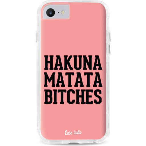 Casetastic Dual Snap Case Apple iPhone 7 / 8 - Hakuna Matata Bitches