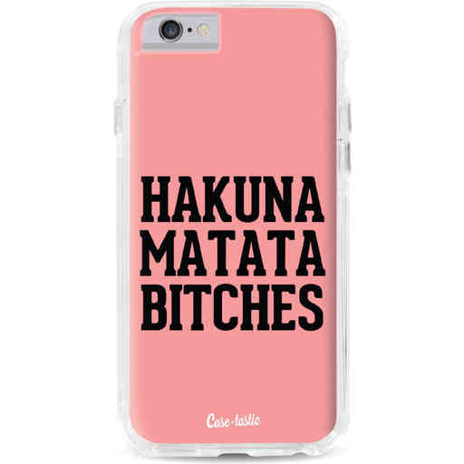 Casetastic Dual Snap Case Apple iPhone 6 / 6s - Hakuna Matata Bitches