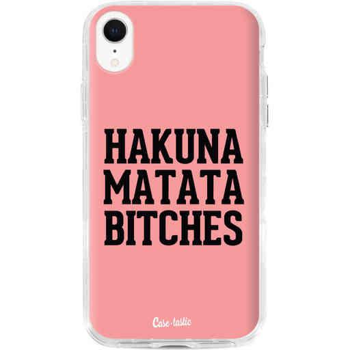 Casetastic Dual Snap Case Apple iPhone XR - Hakuna Matata Bitches