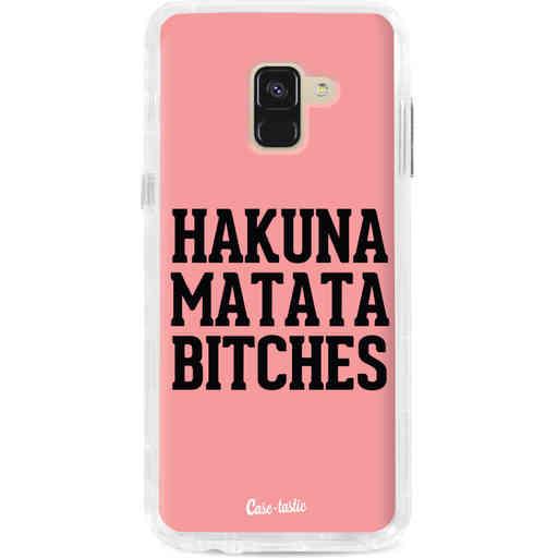 Casetastic Dual Snap Case Samsung Galaxy A8 (2018) - Hakuna Matata Bitches
