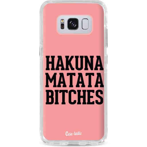 Casetastic Dual Snap Case Samsung Galaxy S8 - Hakuna Matata Bitches