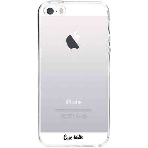 Casetastic Softcover Apple iPhone 5 / 5s / SE - Transparant