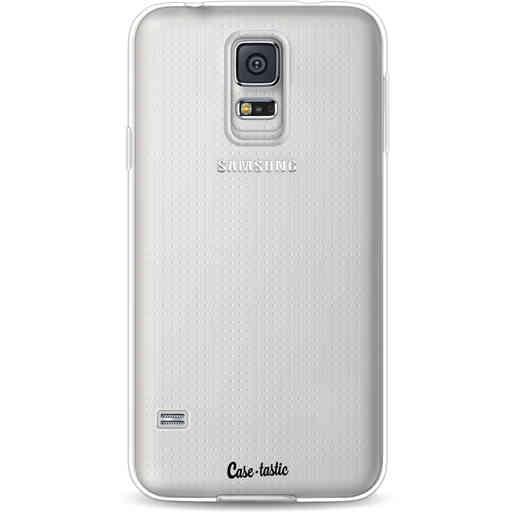Casetastic Softcover Samsung Galaxy S5  - Transparant