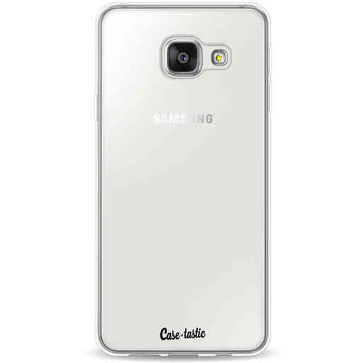 Casetastic Softcover Samsung Galaxy A3 (2016) - Transparant